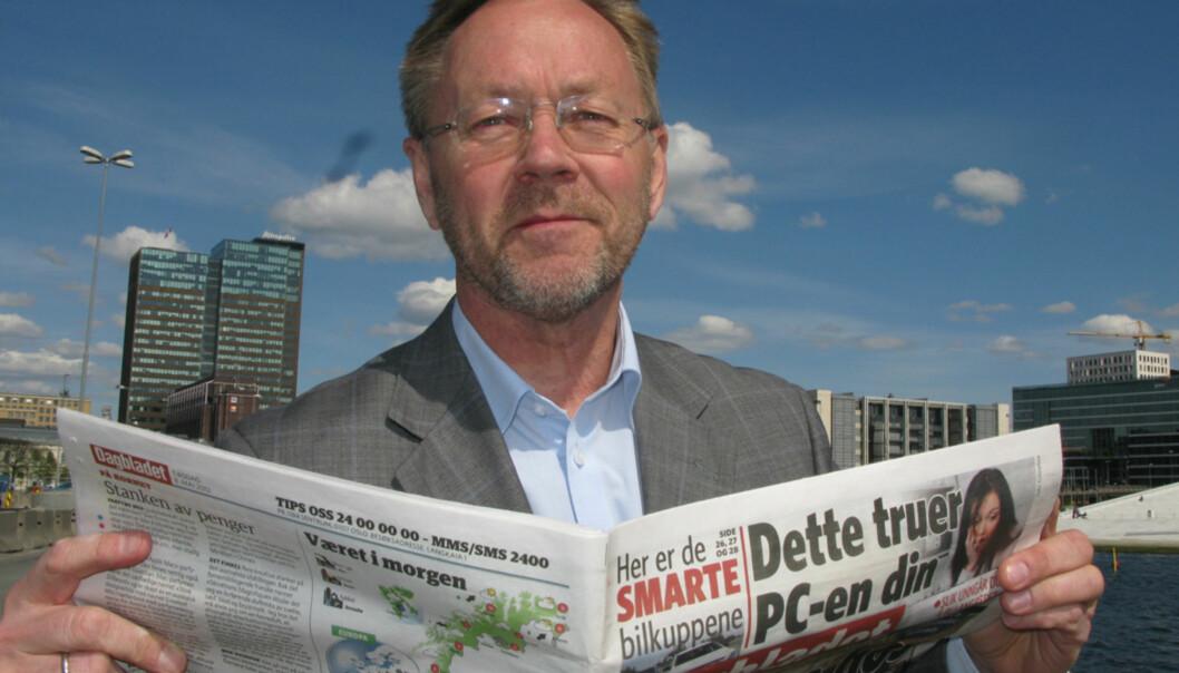 Sjefredaktør John Arne Markussen vil ikke beklage Foto: Martin Huseby Jensen