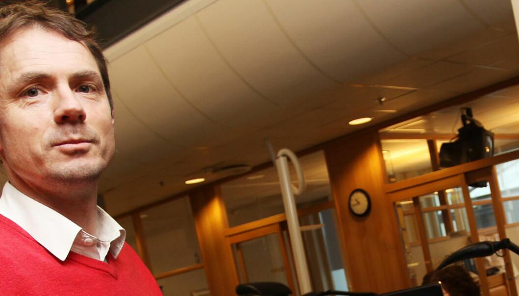 Geir Arne Bore er på jakt etter ny jobb. Foto: Birgit Dannenberg