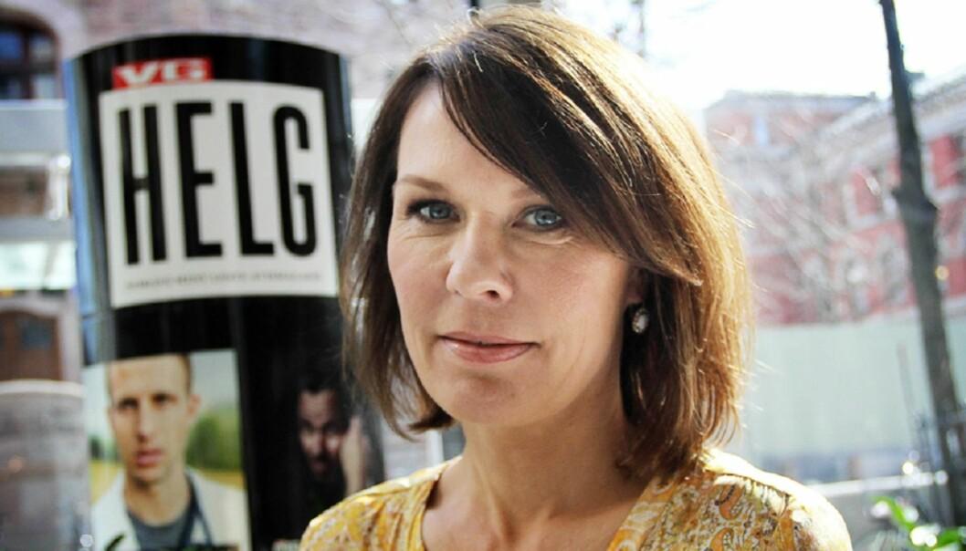 Elisabeth Skarsbø Moen lanserte onsdag omstridt bok om Sp-politikeren Ola Borten Moe. Foto: Birgit Dannenberg