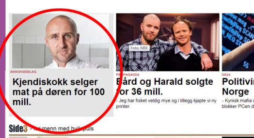 Denne reklamen misliker Aftenposten