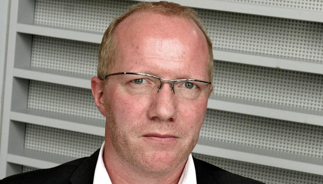 Arne Jensen ble som ventet ansatt som ny generalsekretær i Norsk Redaktørforening. Foto: Birgit Dannenberg