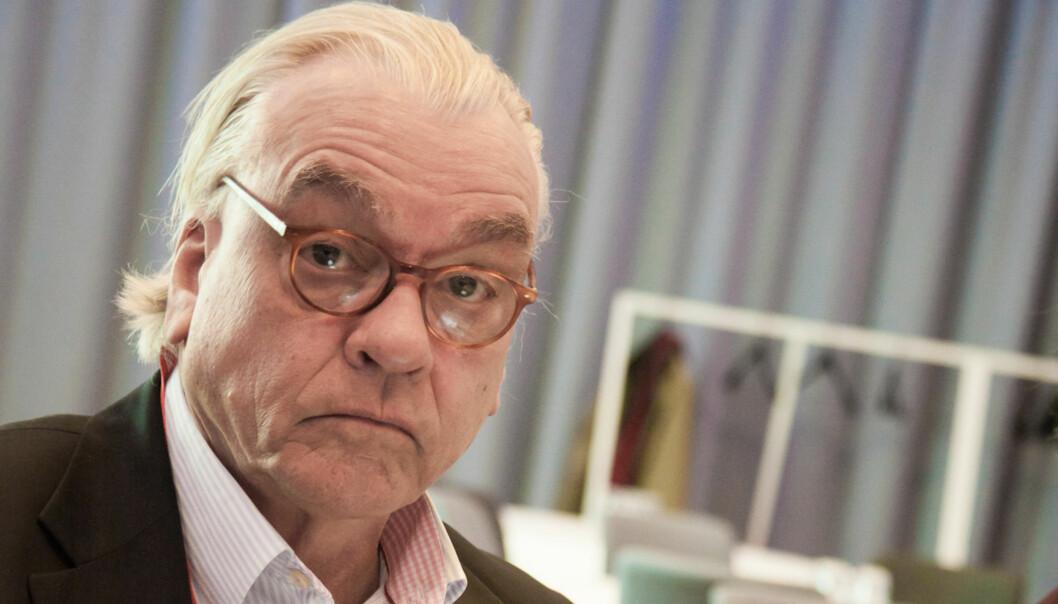 Avtroppende Fagpressen-topp Even Trygve Hansen. Foto:Kathrine Geard