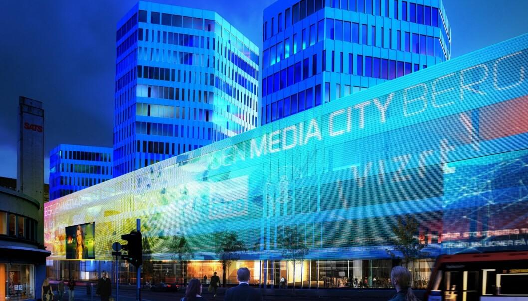 I 2016 kan Bergen få Nordens første MediaCity.