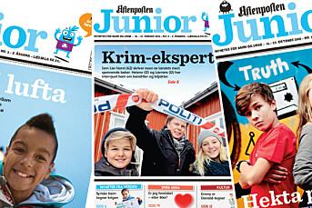 NTBs språkpris til Aftenposten Junior