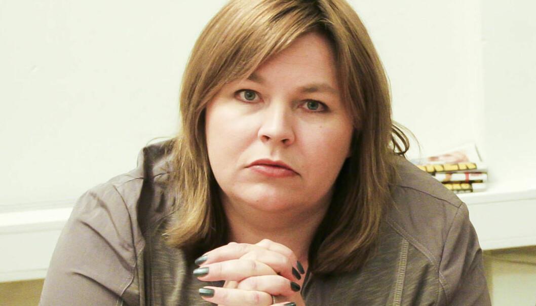 NJ-leder Elin Floberghagen. Foto: Kathrine Geard