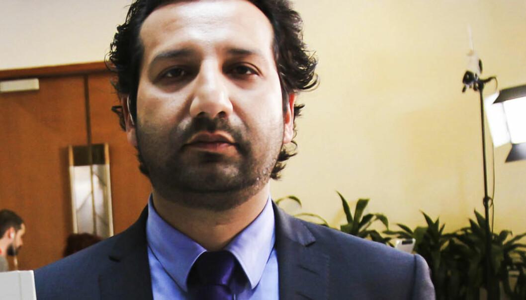 Kadafi Zaman fra TV 2. Foto: Kathrine Geard