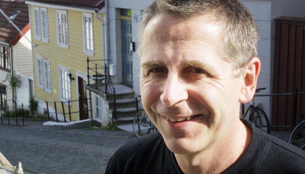Førstamanuensis Svein Brurås ved journaslistutdanningen i Volda. Foto: Kathrine Geard