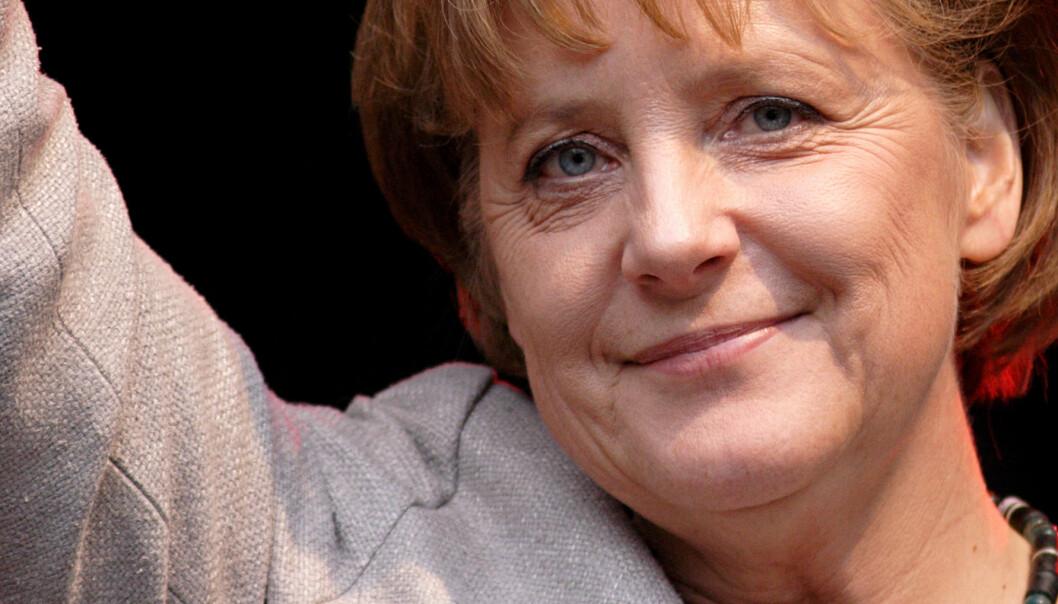 Angela Merkel støtter tyske mediers krav om penger fra Google. Foto:(Aleph),http://creativecommons.org/licenses/by-sa/2.5/