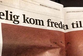 Skivebom i Bergens Tidende
