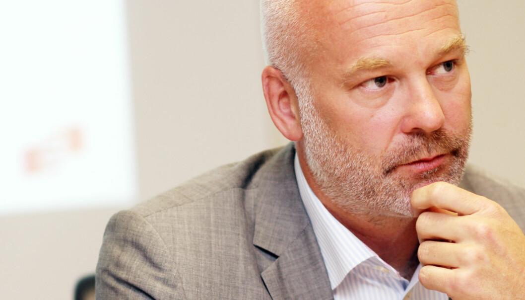 Kringkastingssjef Thor Gjermund Eriksen i NRK fikk i regjeringens forlag det NRK ba om. Arkivfoto