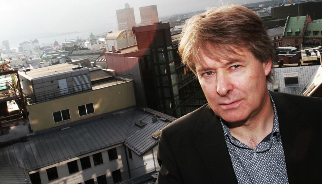Sjefredaktør Torry Pedersen i VG. Foto: Birgit Dannenberg