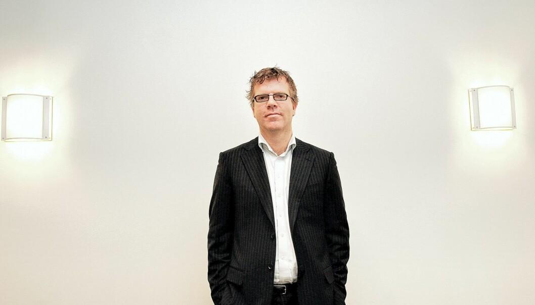 Jon Hustad vil ha en høyreradikal avis. Foto: Birgit Dannenberg.