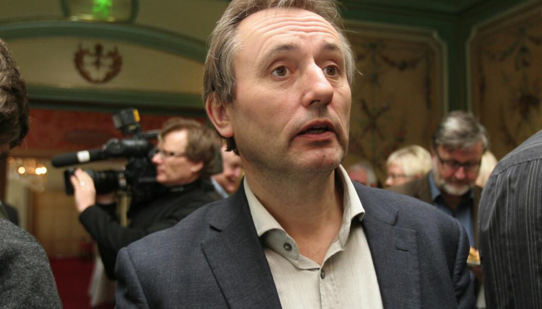 Helge Simonnes mente at både han selv og journalistene i hans egen avis var inhabile. Han lot seg i stedet intervjue av en redaktør. Arkivfoto: Journalisten