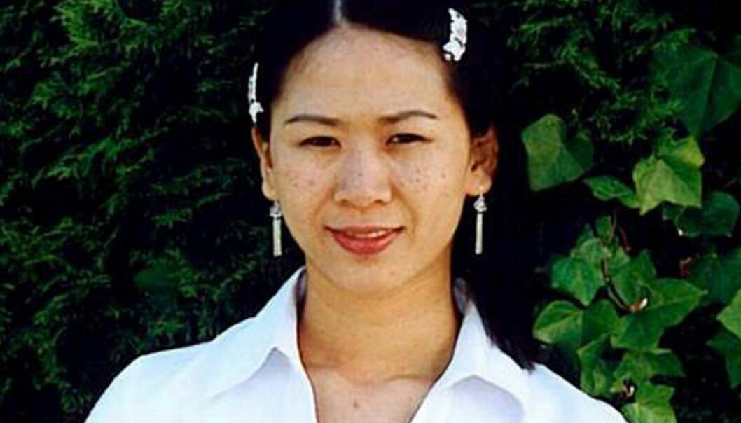 Dette bildet er blant fotografiene av den savnede Dung Tran Larsen familien mener avisene må betale for. Gjengitt med tillatelse.