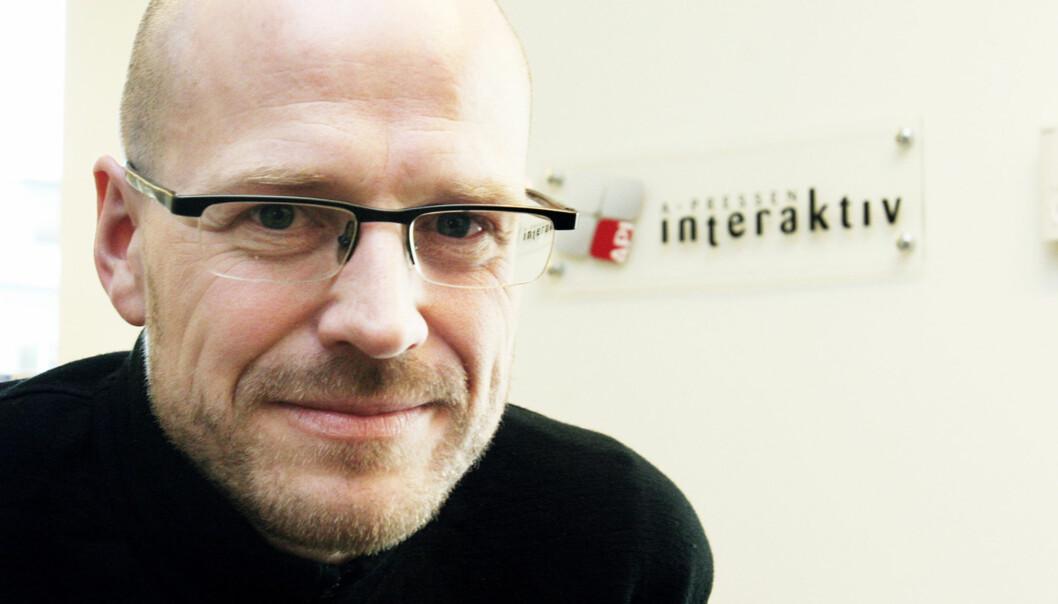 Nettsjef i A-pressen Interaktiv, Pål Nedregotten. Foto: Birgit Dannenberg20080519
