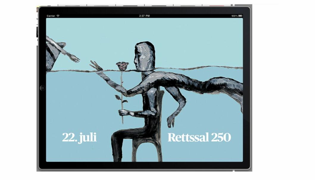 Aftenposten har lansert egen gratisapp med journalist Kjetil Østlis fortellinger og Arne Nøsts tegninger.