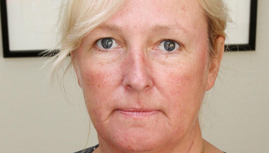 Carine Johansen slutter i alle verv i Edda Media som følge av at hun har sagt opp i Østlandets Blad, men hun fortsetter som landsstyremedlem i NJ. Foto: Birgit Dannenberg