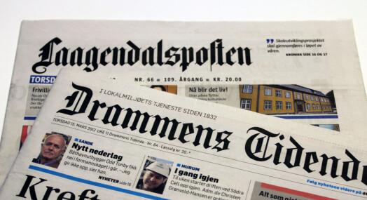 Reduserte inntekter i Edda Media Buskerud