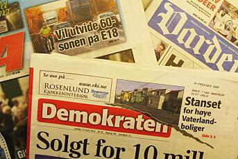 A-pressen må selge aviser