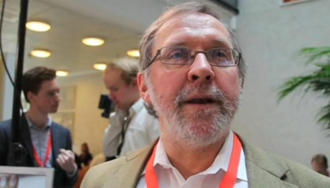 Politisk redaktør Harald Stanghelle i Aftenposten. Foto: Kathrine Geard