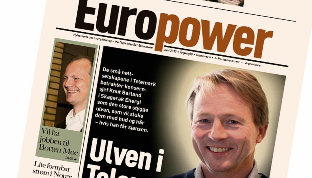 Europower legges ned og fortsetter som magasinet Energi.
