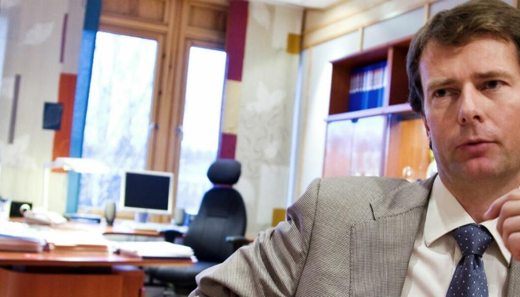 Per Axel Koch merker seg at Varden og Demokraten legges ut for salg, men vil avvente Medietilsynets behandling. Foto: Thor Nielsen