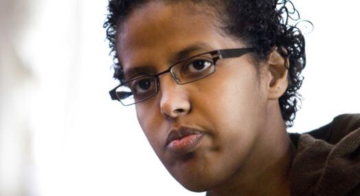 Amal Aden mottok 322 trusler etter Dagbladet-innlegg