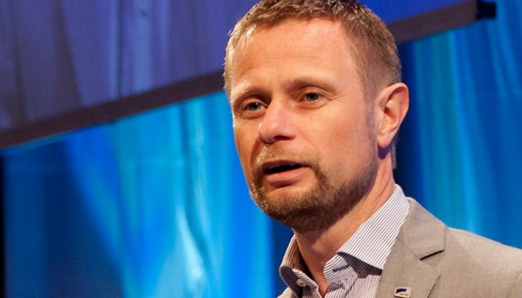 Bent Høie leder Høyres arbeid med nytt partiprogram for den kommende stortingsperioden. Foto:Tomas Moss/icu.no/Høyre