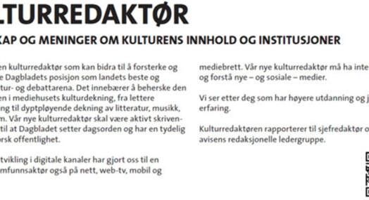 Flere har sagt nei til Dagbladet