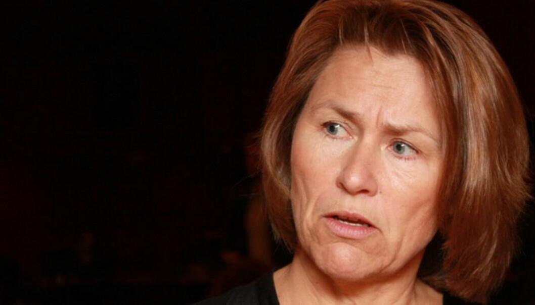 Justisminister Grethe Faremo kritiseres av presseorganisasjonene. Bildet er fra Aps et landsstyremøte i fjor. Illustrasjonsfoto: Arbeiderpartiet/Flickr