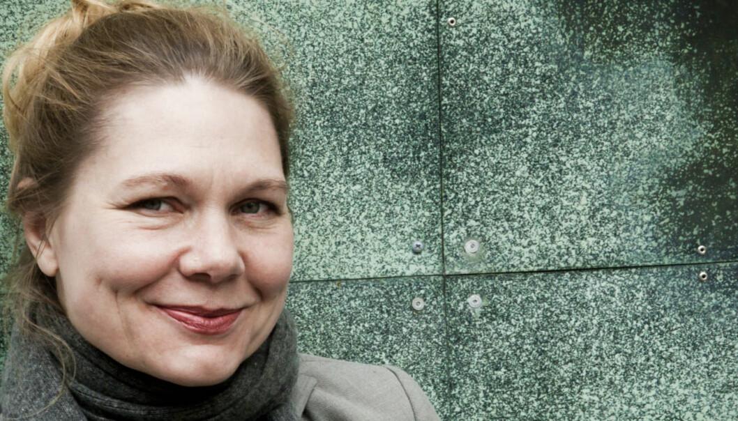 MIDLERTIDIG: Lena Lindgren er konstituert redaktør i Morgenbladet. Hun søker ikke den faste stillingen og regner med å sitte fram til sommeren. Foto:Kathrine Geard