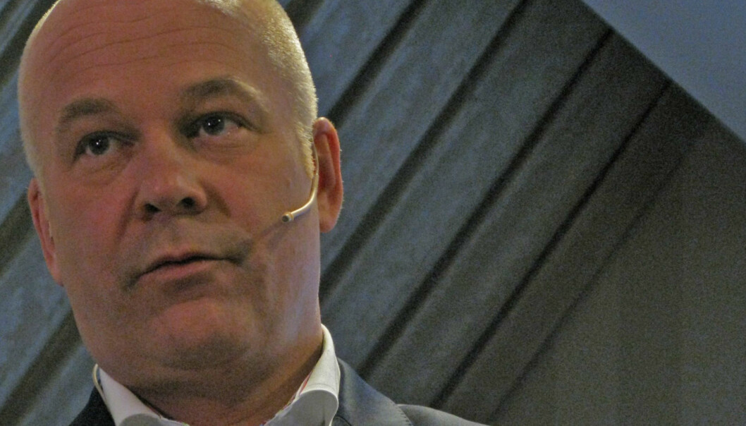 Konsernsjef Thor Gjermund Eriksen anslår synergieffektene av Edda-kjøpet til 300 millioner kroner. Foto: Martin Huseby Jensen