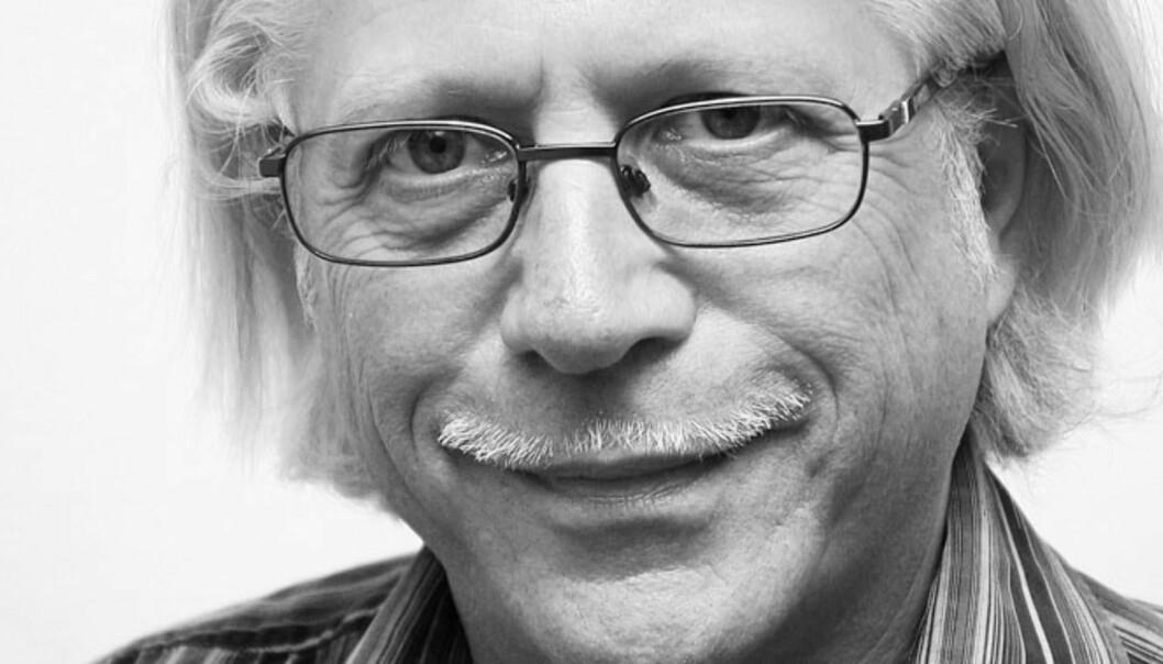 Redaktør Helge Øgrim i Journalisten. Foto: Birigt Dannenberg