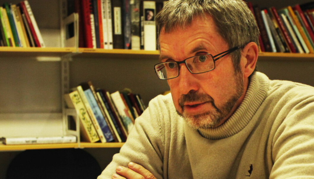 Jens Olai Jenssen, redaktør i Oppland Arbeiderblad20101105