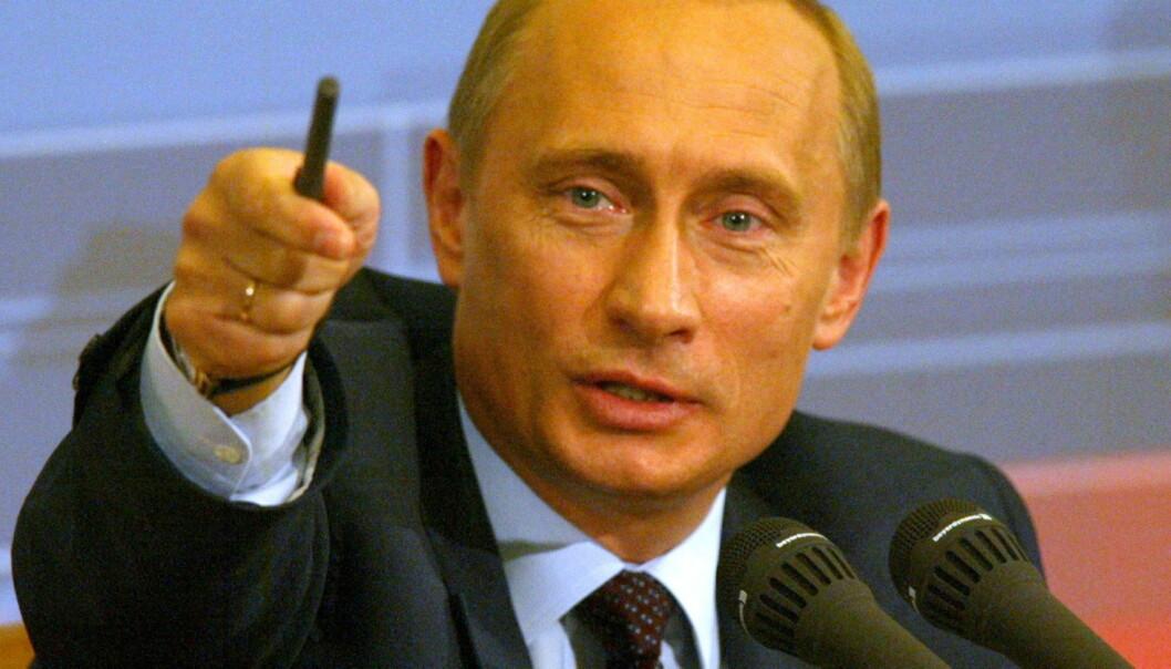 Russlands president Vladimir Putin slipper nå å bli parodiert av en rekke stengte Twitter-kontoer. Foto: Presidential Press and Information Office