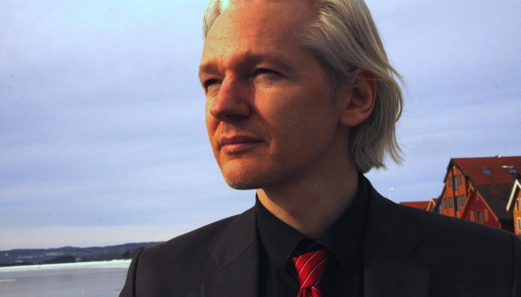 Julian Assange. Foto: Espen Moe