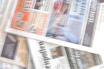 Store forskjeller på like aviser