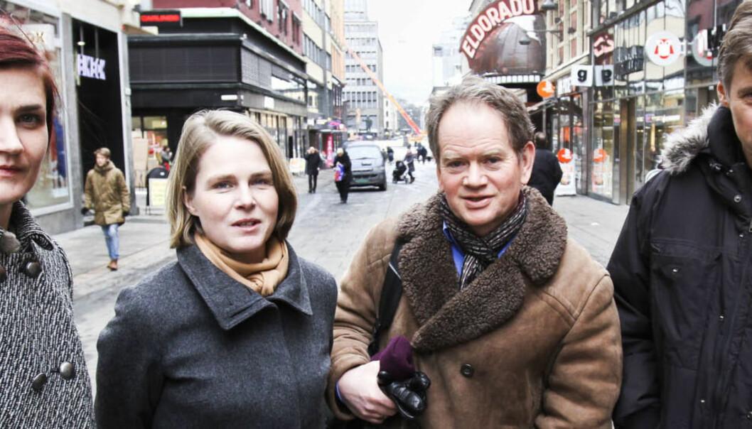 Anders Giæver (VG), Magnus Takvam (NRK)), Hege Ulstein (Dagsavisen),og Maren Sæbø (Verdensmagasinet X). Foto:Kathrine Geard