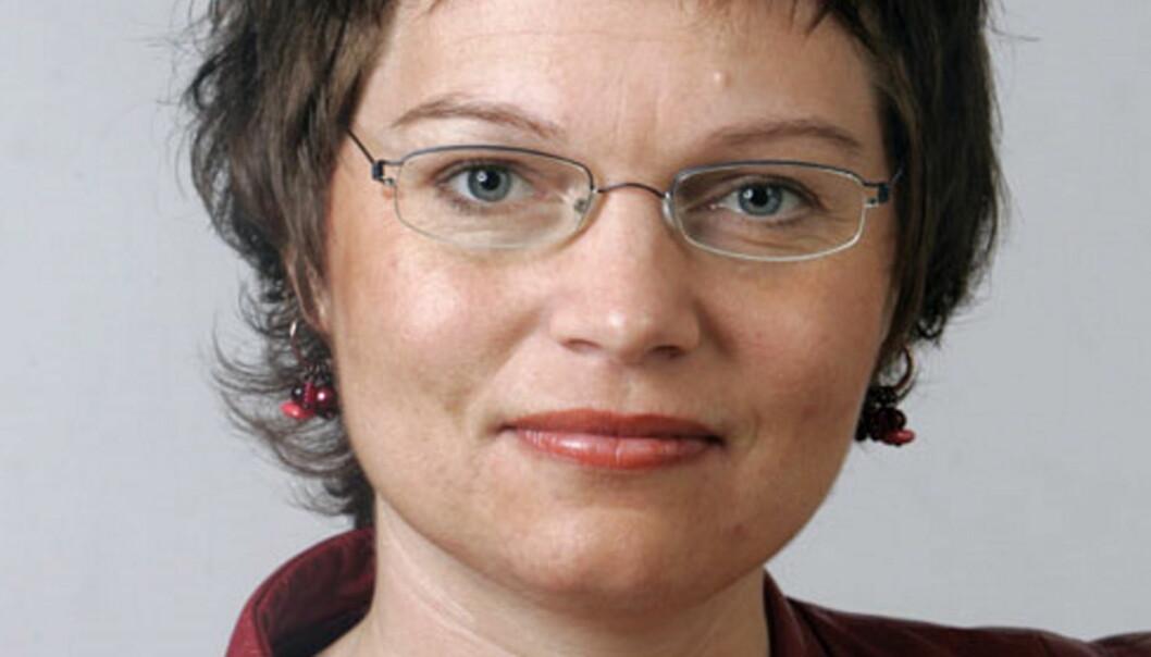 Leder May-Helen Molvær Grimstad i Kringkastingsrådet.