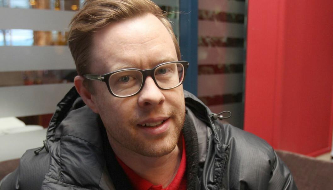 Konferansesjef Jonas Skybakmoen. Foto: Glenn Slydal Johansen