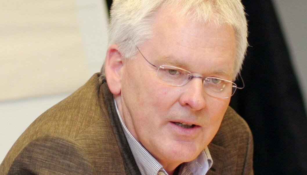 Konserndirektør Stig Finslo i Edda Media sier at det er tilfeldig at nedleggelsen kommer etter at A-pressen kjøpte konsernet. Foto: Birigt Dannenberg