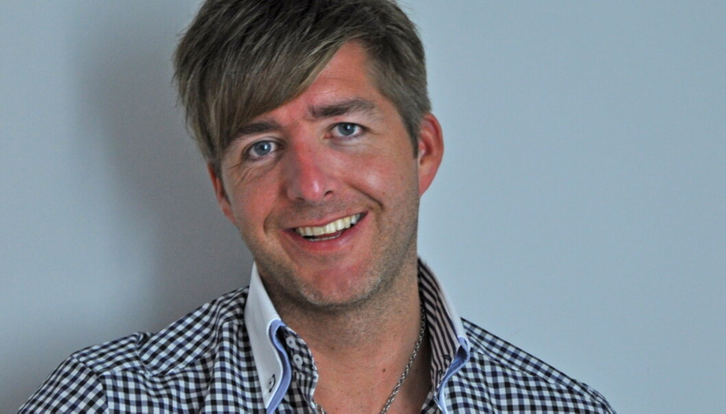 Redaktør Sondre Mikael Knutsen