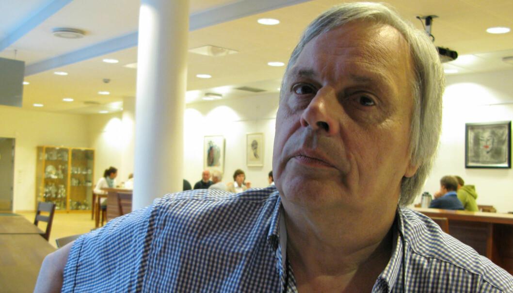 Klubbleder Arild Berg Karlsen i Bergens Tidende er bekymret for journalistikken som følge av AFP-nedbemanningen. Foto: Martin Huseby Jensen