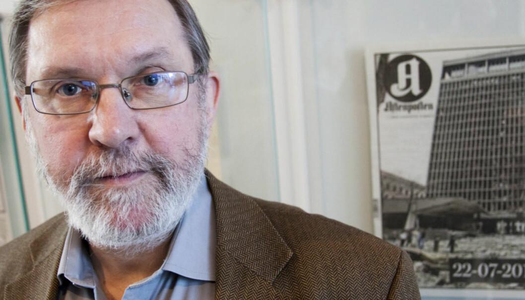 Politisk redaktør Harald Stanghelle i Aftenposten er den mest brukte mediepersoneni  Dagsnytt 18. Foto: Kathrine Geard