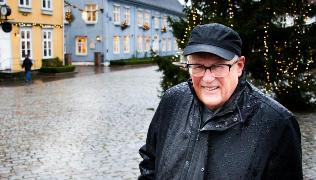Einar Olsen, 75 år og tilkallingsvikar i NTB.