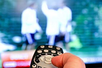 Spår at færre vil eie TV