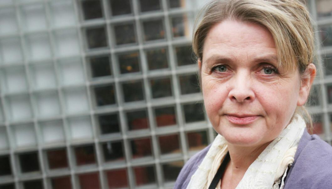 Voldtektsforsker Marianne Sætre hos Oslo-politiet. Foto: Birgit Dannenberg