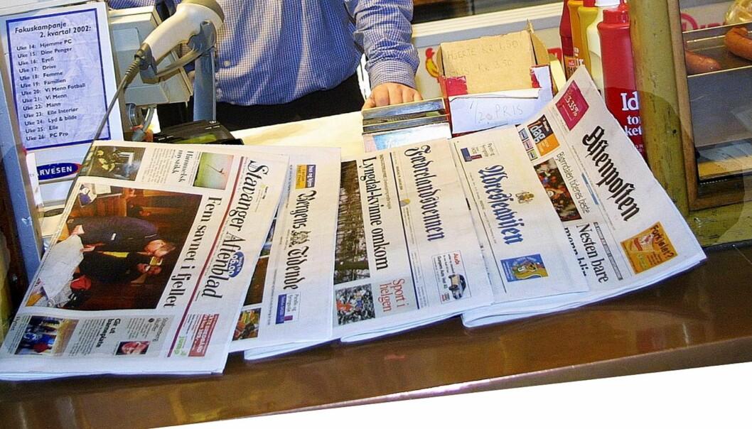 kiosk, illustrasjon, aviser20030130Brukt på nett