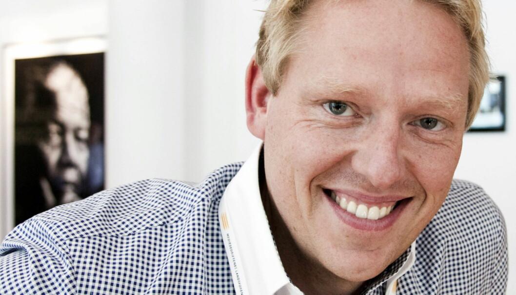 Jan Ove Årsæther, nyhetsredaktør i TV 2. Foto:Kathrine Geard