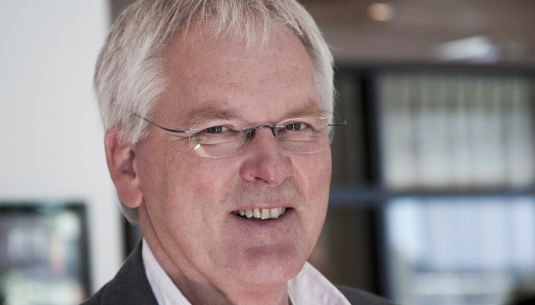 Stig Finslo, konserndirektør i Edda.Foto:Kathrine Geard